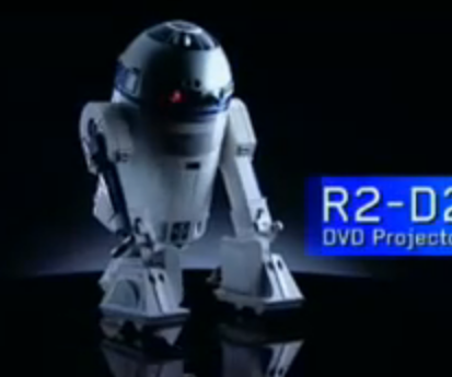 R2-D2 Projecteur
