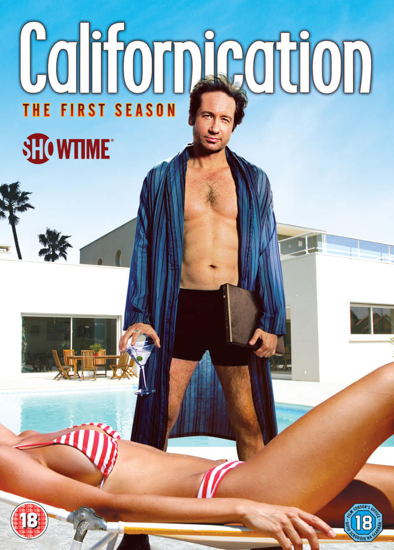 Californication jaquette dvd