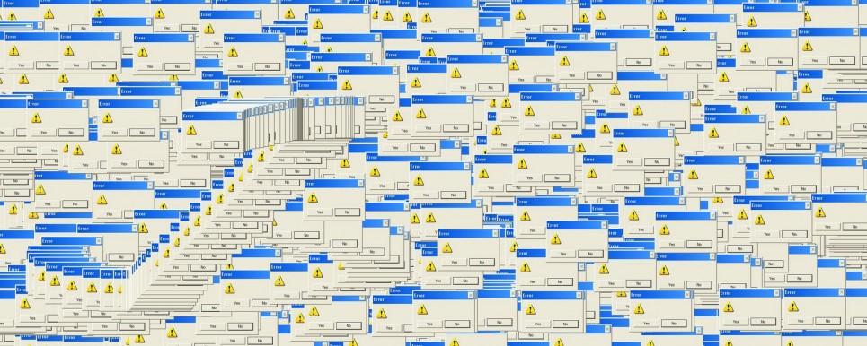 Multiples erreurs windows en cascade