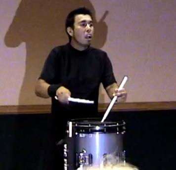 Un homme, un tambour