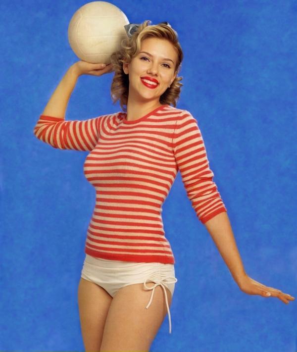 4: La ravissante Scarlett Johansson (ma favorite ^^)