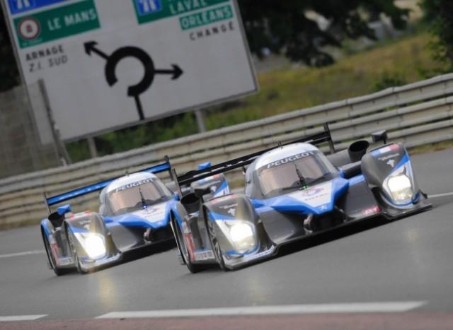 2 Peugeot sur les 2 premières places du podium
