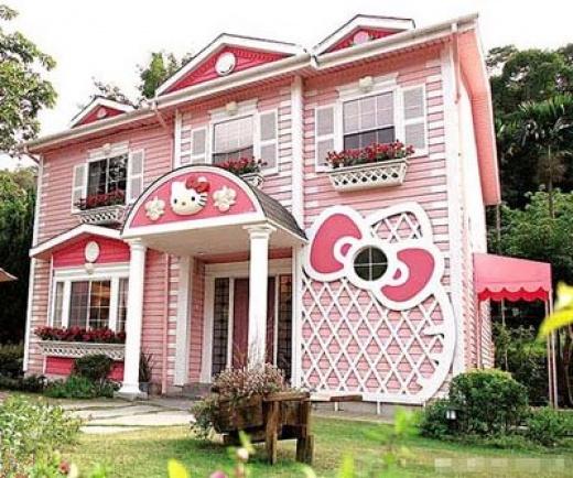 Dans une jolie maison...