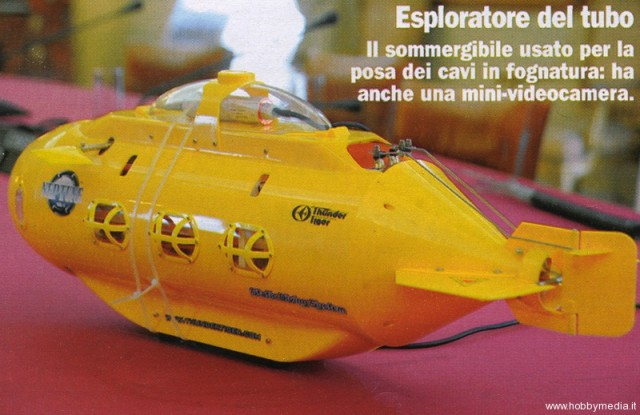 Yellow submarine, yellow submarine...