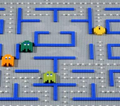 8 bits + stop motion + Lego