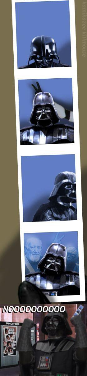 Dark Vador photomaton