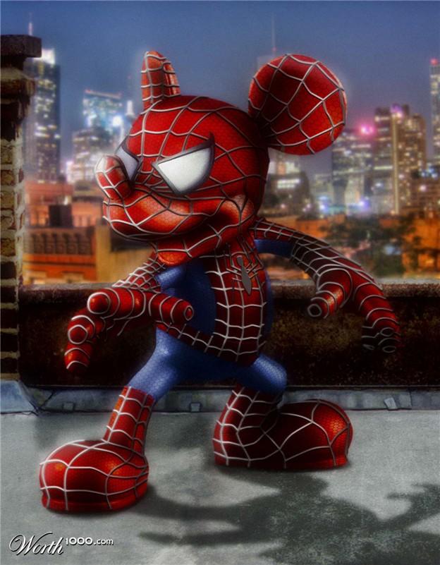 Le gagnant du concours: Spidermouse
