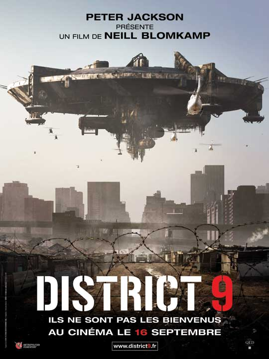 Critique du film District 9