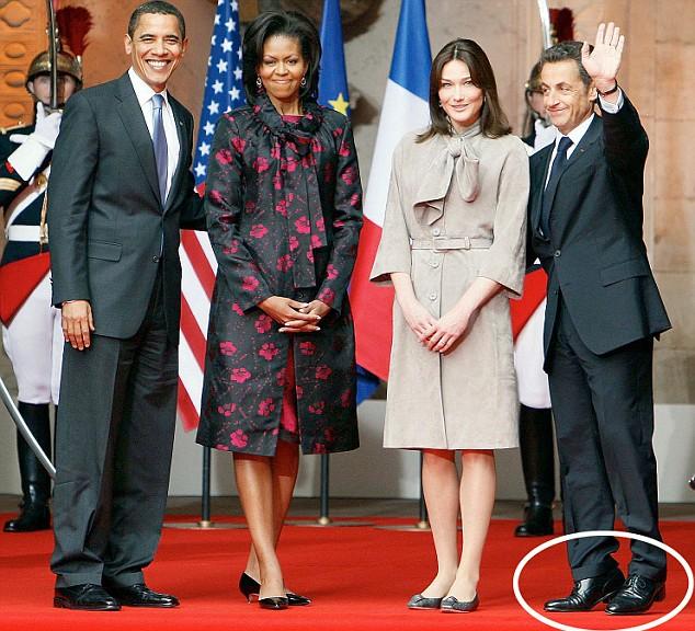 3 avril 2009, venue du couple Obama