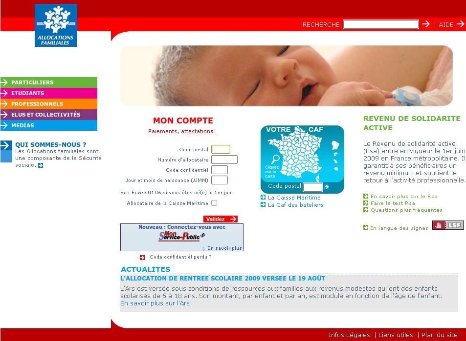 L Adresse Mail De La Caf