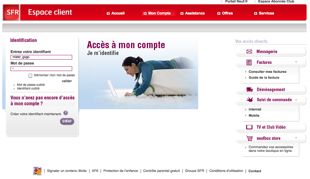 mail web sfr