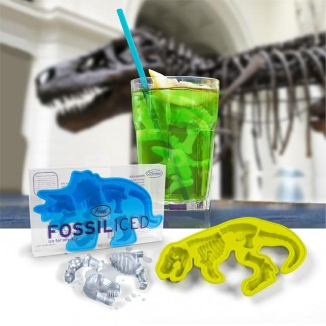 Glaçons dinosaures