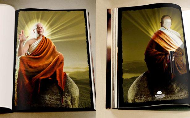 Mag Lite Buddha