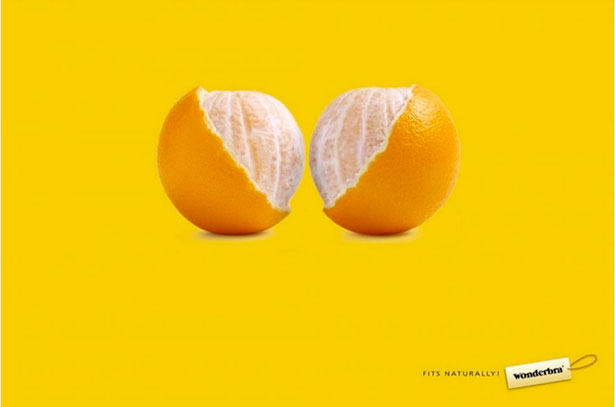 Wonderbra oranges