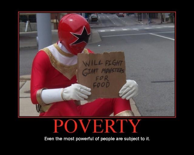 """La pauvreté devient """"à la mode""""..."""