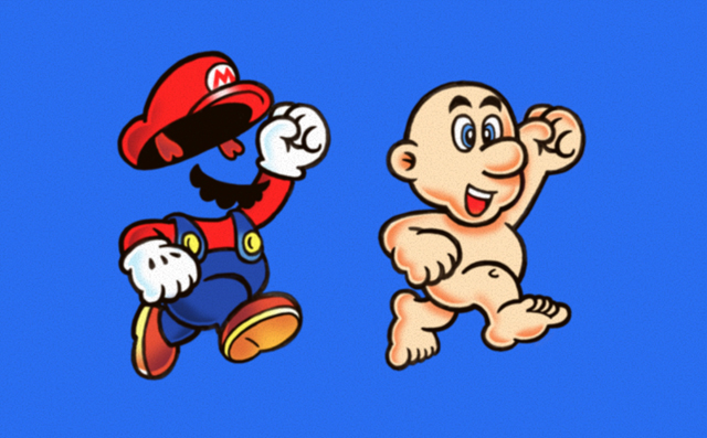 {Pic} Mario mis à nu