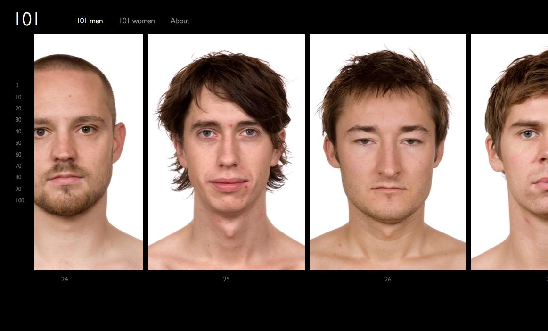 {Site} Onehundredone: découvrez la Vie en 101 visages