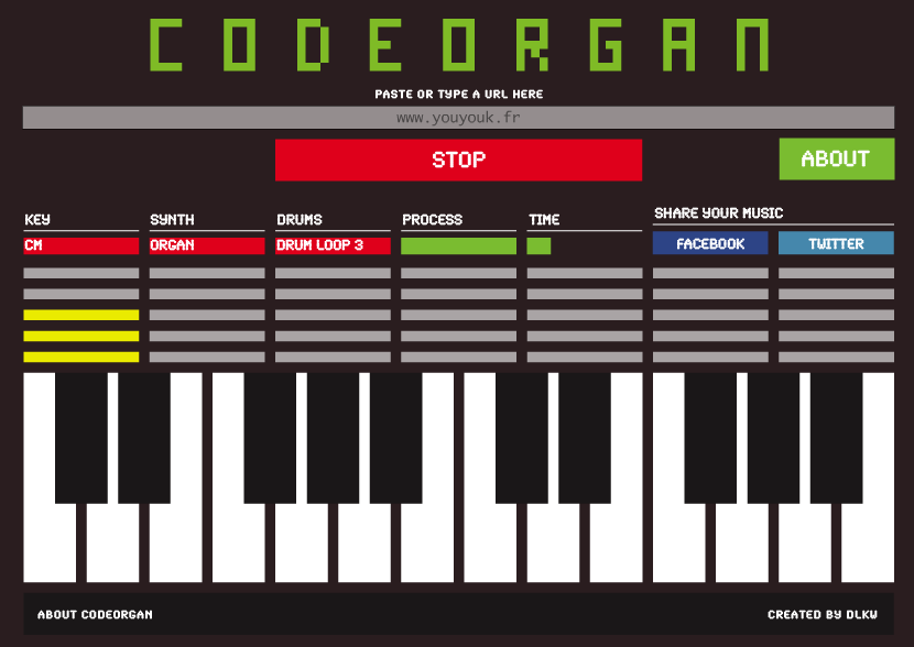 {Site} Codeorgan: décodeur de html musical!