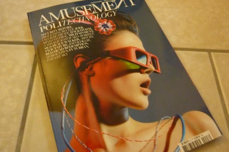 Amusement: le magazine qui devrait plaire aux geeks (et aux geekettes)