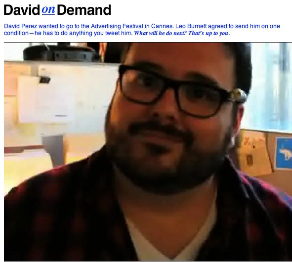 DavidonDemand: Bienvenue dans la web réalité