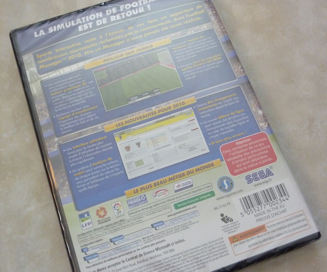 Gagnez Football Manager 2010 PC Mac 2