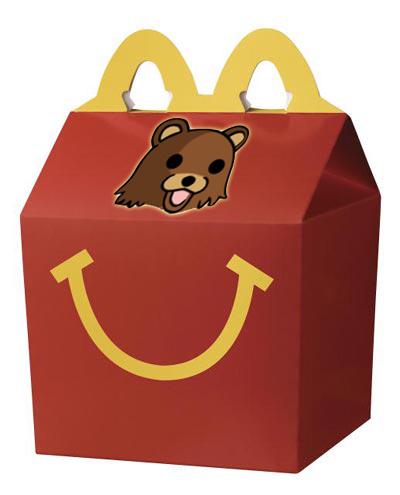 «Le jouet du Happy Meal, c'est le bonbon du kidnappeur»
