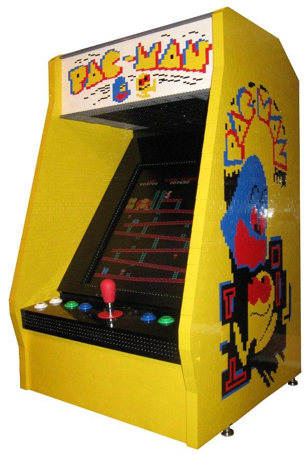 Borne arcade Lego