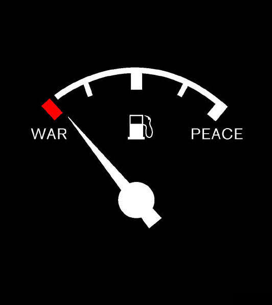 war fuel peace