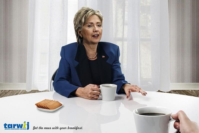 Tarwij - Hillary Clinton