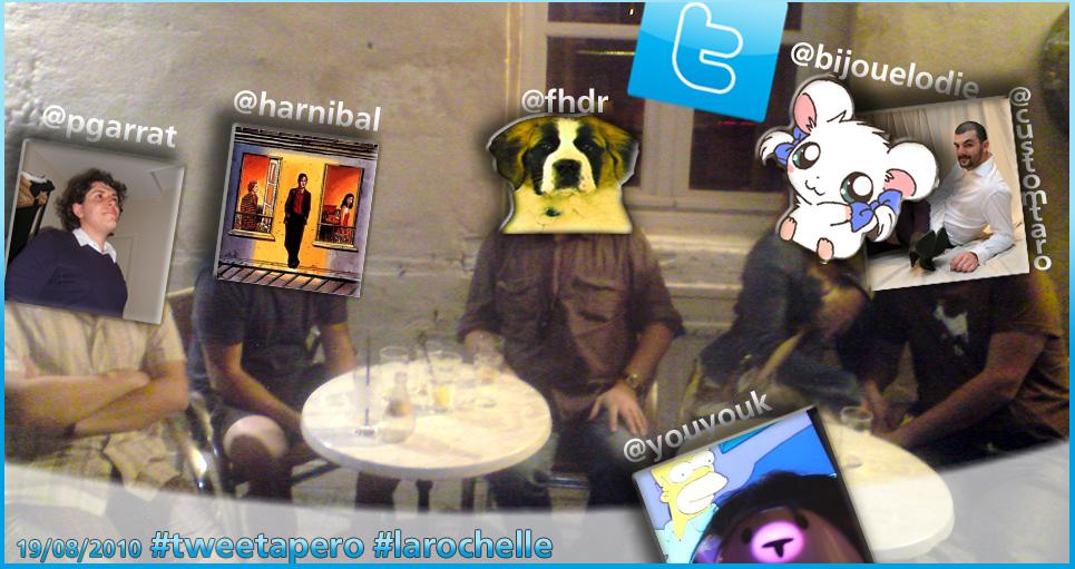 tweetapero la rochelle aout 2010
