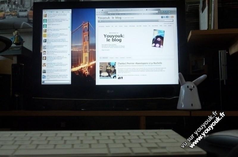 Afficher iMac sur une TV LCD HD