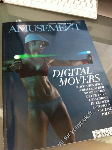 Nouveau numéro du magazine «geek»: Amusement – Digital movers