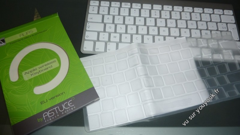 Protection clavier iMac en silicone boite