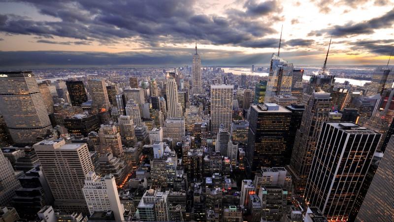 Rockefeller's vue