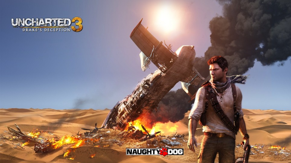 Exclu artwork Uncharted 3 Drake's Deception