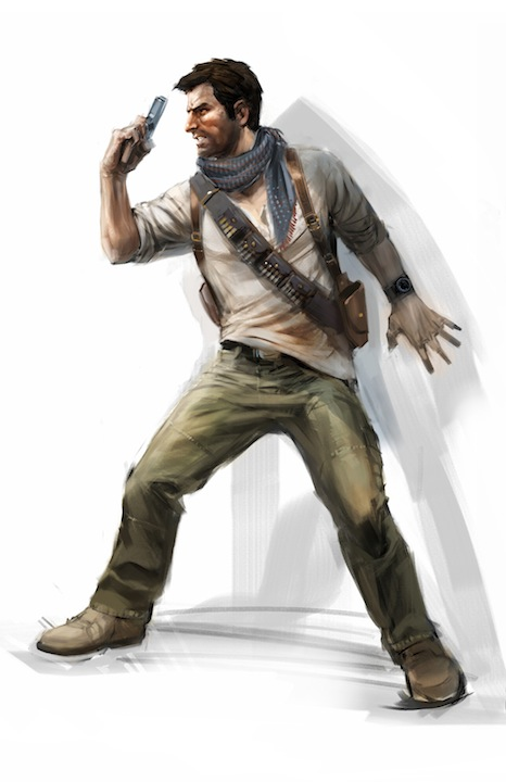 Exclu artwork Uncharted 3 Drake's Deception Nathan