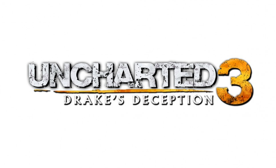 Exclu artwork Uncharted 3 Drake's Deception logo officiel