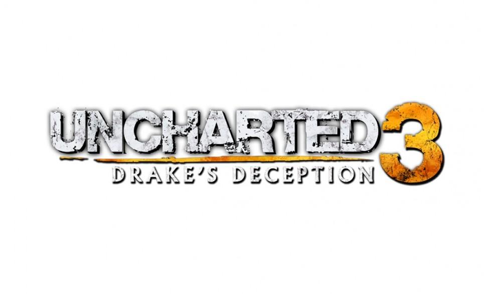 Exclu artwork Uncharted 3 Drake's Deception logo officiel