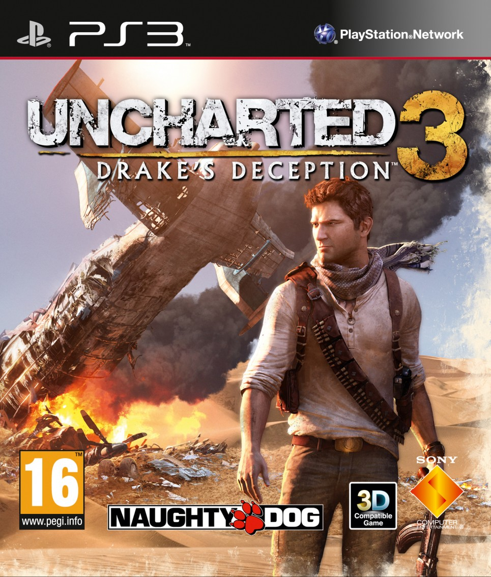 jaquette officielle d'Uncharted: Drake's Deception