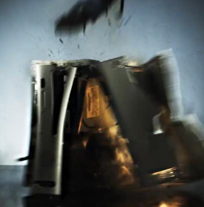 Explosion de Xbox 360 en vidéo