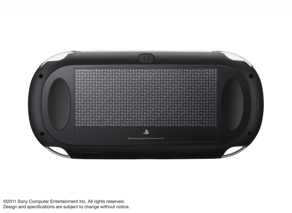 Photo HD du NGP de Sony la nouvelle PSP2 - Photo arrière tactile