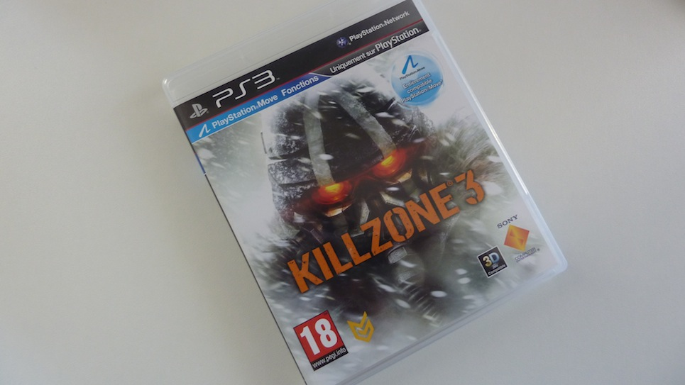 Killzone 3 PS3 jaquette avant