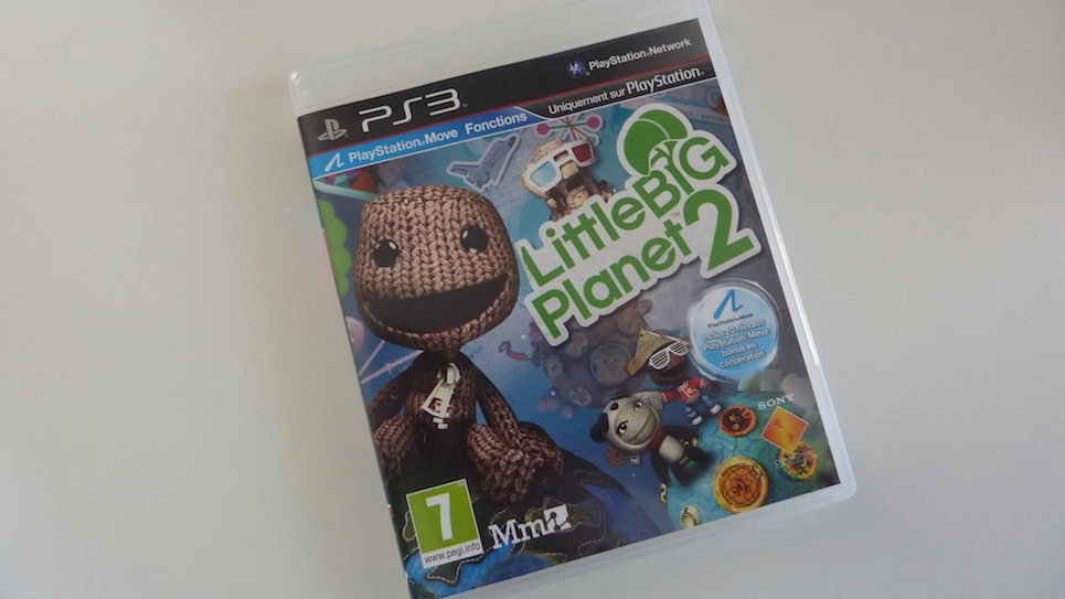 Little big Planet 2 PS3 jaquette avant