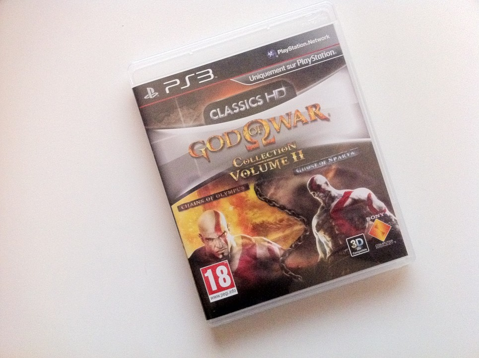 Jaquette God of War Collection volume 2